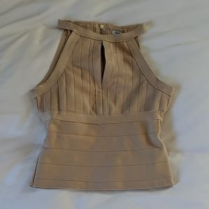 Fitted Bandage Top